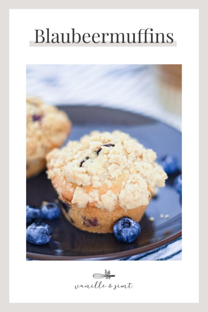Rezept Blaubeermuffins