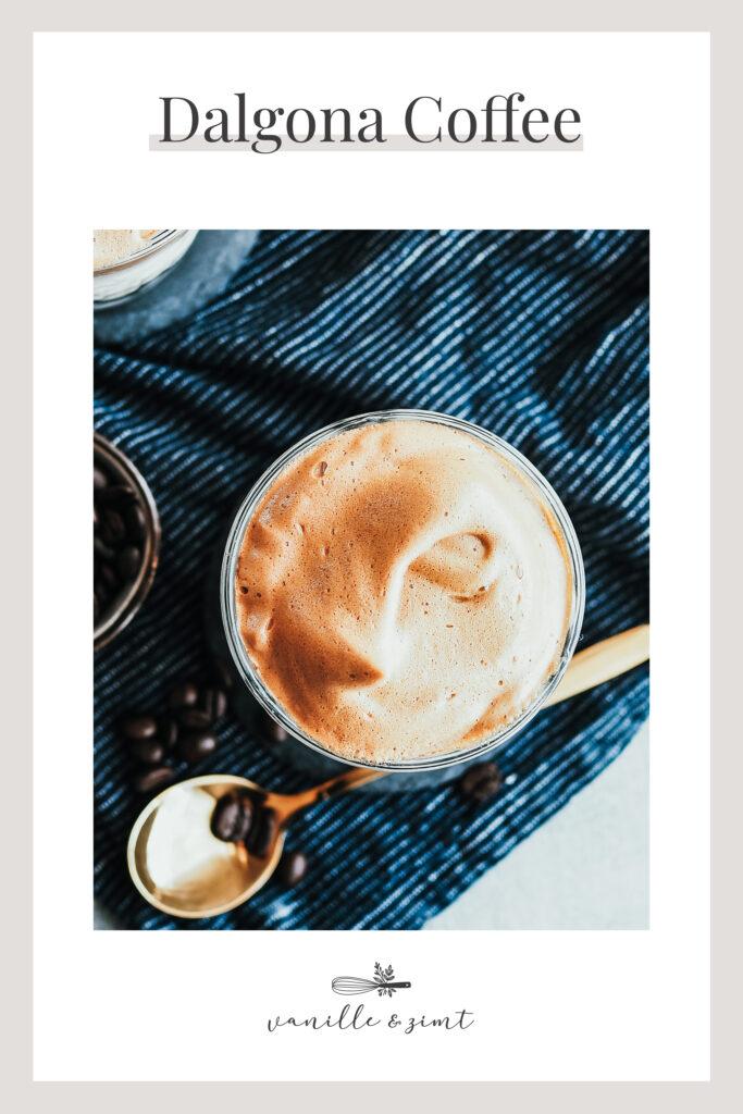 Rezept Dalgona Coffee