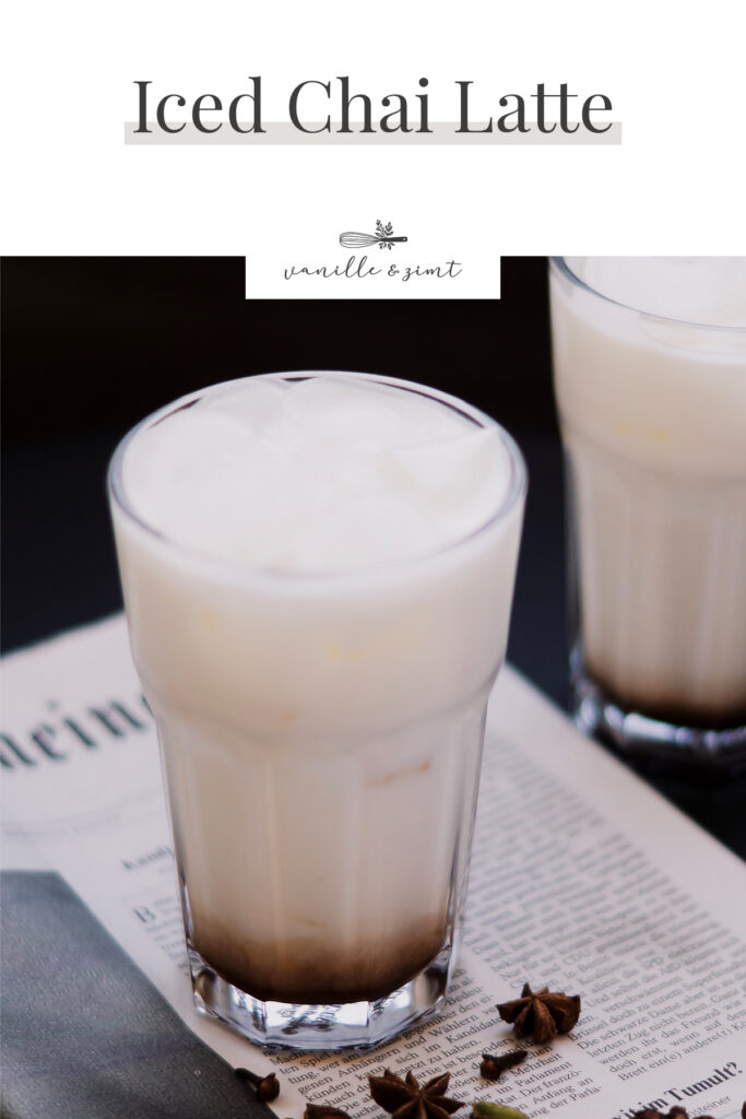 Rezept Iced Chai Latte