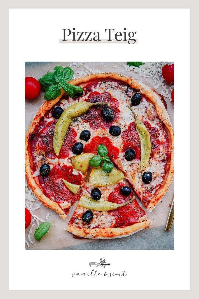 Rezept Pizza Teig