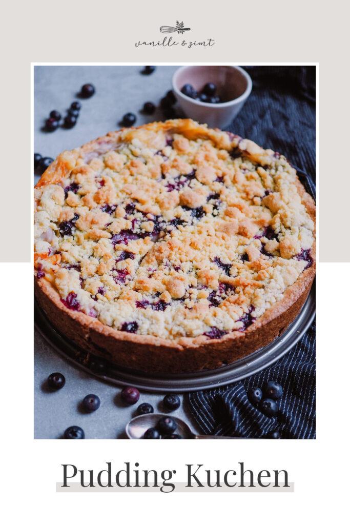 Rezept Pudding Streusel Kuchen