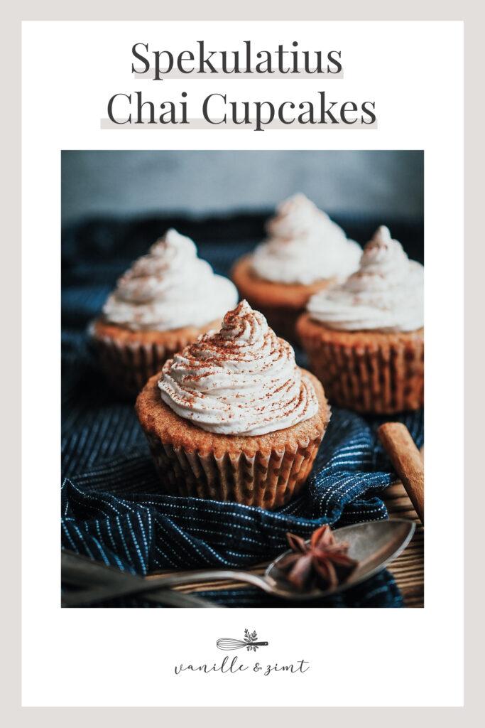Rezept Spekulatius Chai Cupcakes